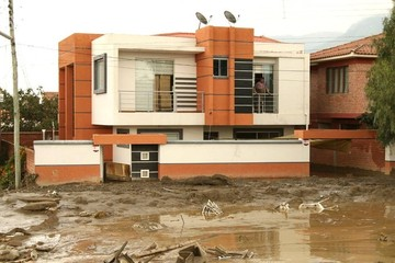 Reportan 25 casas afectadas de forma directa por desastre en Tiquipaya