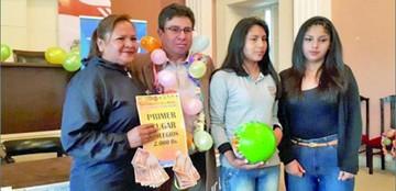Ganadores del Corso Saludable reciben premios