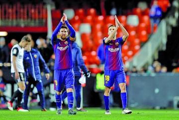 Barcelona avanza a la final