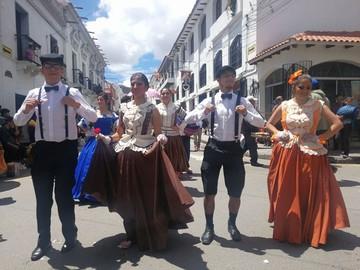 Sucre revive el Carnaval de Antaño