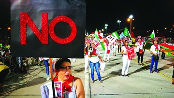 Movilizaciones en torno al 21F se vienen después de Carnaval