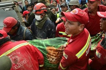 Tiquipaya: Buscan a 2 personas desaparecidas en la mazamorra