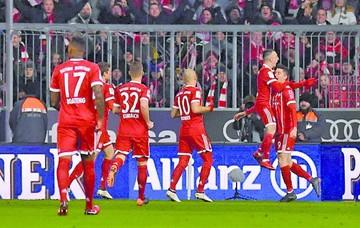 Bayern avanza a paso firme