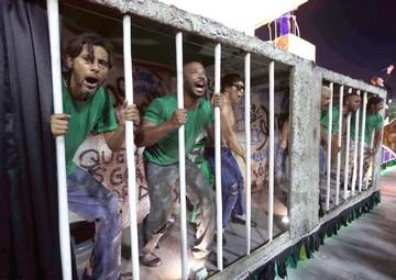 La fiesta se prolonga en el fastuoso Carnaval de Brasil