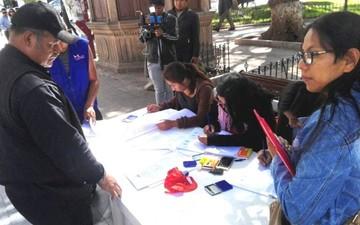 Inicia recolección de firmas para revocar al Alcalde de Sucre y concejales