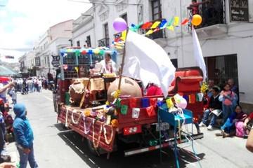 Fiestas de Carnaval generaron más de 1.000 toneladas de basura en Sucre