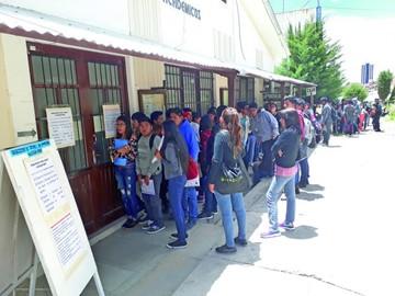 U: Matriculan al 13% de los admitidos en examen