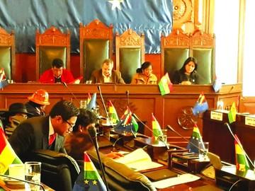 Ministra López se declara víctima en informe oral