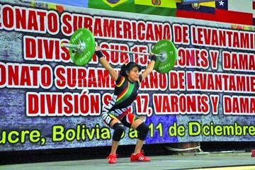 Bolivia prepara su retorno en halterofilia