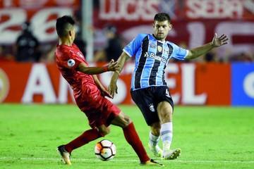 Independiente y Gremio igualaron por la recopa