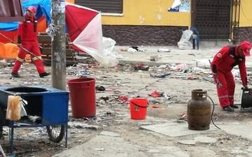 Gobierno asegura que se utilizaron explosivos en detonaciones de Oruro