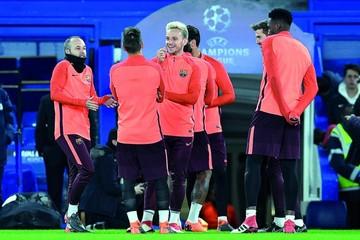 El Barça se mide al Chelsea