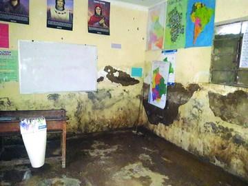 Estudiantes de Cucurí no tienen dónde pasar clases