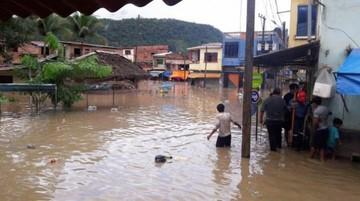 Fuertes lluvias inundan  pueblos de La Paz y Beni