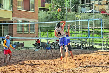 Voley de playa inicia hoy II Etapa en la Capital