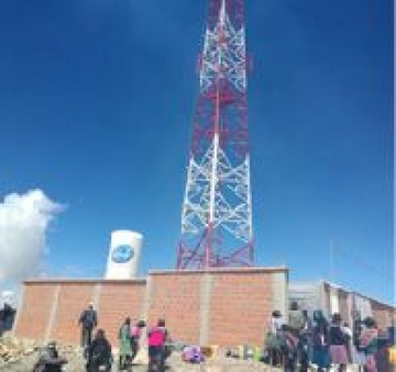 Anuncian 30 radiobases más para el Departamento