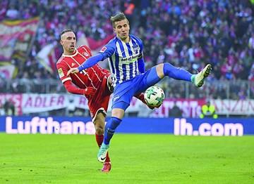 Bayern empata y rompe su racha de diez triunfos