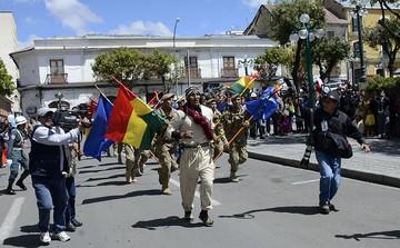 Militar concluye recorrido del chasqui que informó invasión chilena en Antofagasta