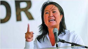 Continuará caso por lavado contra Keiko Fujimori
