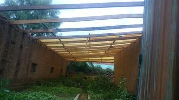 La Unidad Educativa Sapse de Poroma también sufre daños por las lluvias