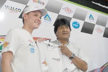 Marco Bulacia Wilkinson se alista para el Campeonato Mundial WRC2