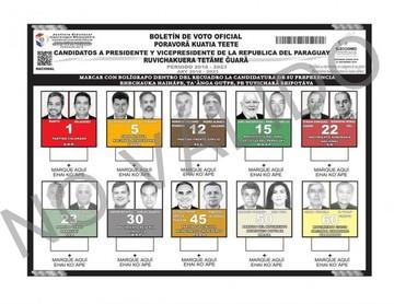 Paraguayos podrán votar en papeletas en guaraní