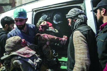 Régimen sirio mata a unos 35 civiles en bombardeos