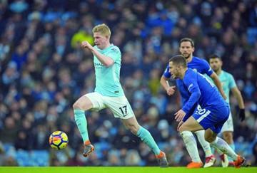 Chelsea no pudo frenar al Manchester City