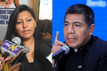 "Chapetón manda a trabajar a Huanacuni y arman polémica sobre ""jach'a obras"""