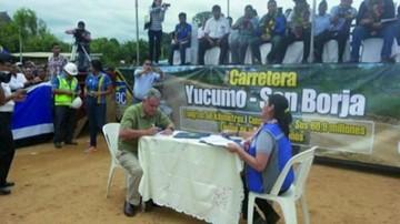 Yucumo - San Borja: Fopeca pide rescisión y ABC ejecuta boletas