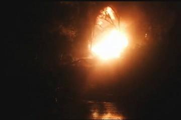 Monteagudo: Deslizamiento de tierra provoca rotura de poliducto de GLP que genera incendio