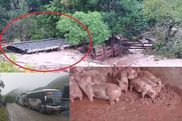 Chuquisaca: Lluvia provoca inundaciones y derrumbes en carreteras