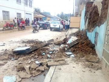 Lluvias provocan desastres en al menos cuatro municipios