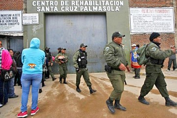 Palmasola: Buscan a 2 reos y reemplazan a los policías