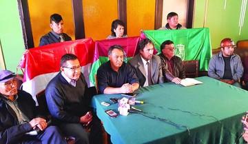 Cívicos aprueban marcha a La Paz contra reelección