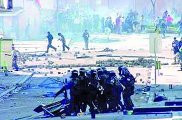 Goni fue advertido del uso de la fuerza militar en 2003