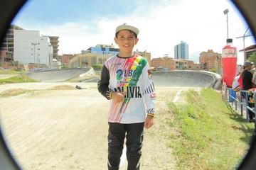 Sebastián Ordóñez promesa del bicicross boliviano