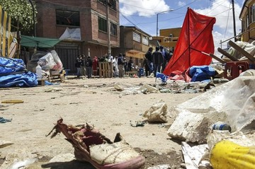 """Investigan """"terrorismo en las redes"""" tras segunda explosión en Oruro"""