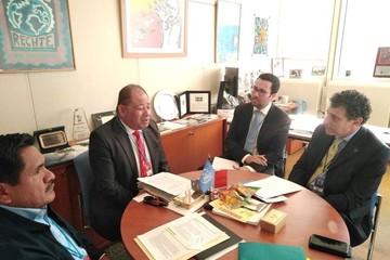 Romero presentó ante la JIFE y la UNODC resultados de la lucha antidroga en Bolivia