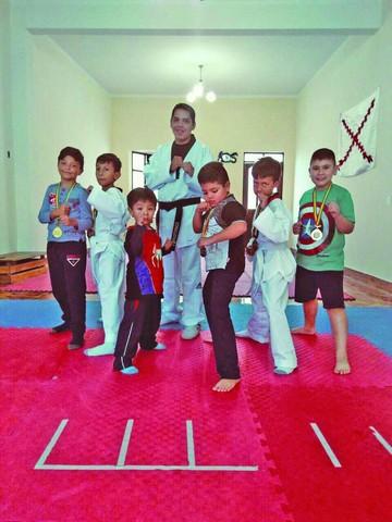 Taekwondo con buen pie