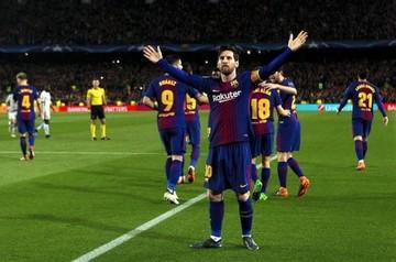 El gol 100 de Messi en Champions fue su gol más rápido