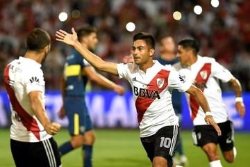 Martínez y Scocco someten a Boca y dan a River la Supercopa argentina