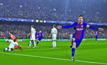Messi sentencia al Chelsea