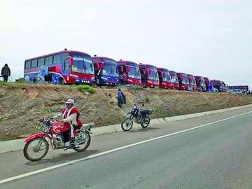Piden informe sobre uso de buses universitarios