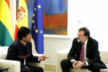 Bolivia y España avanzan en la exención de visado y Evo destaca el trabajo de ambos países