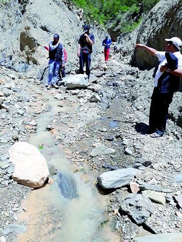 Alarma en Río Chico por posible actividad minera