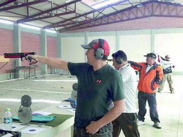 Poca participación en inicio de competencias de tiro