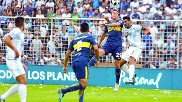 Bou anota en el final y salva a Boca de la derrota