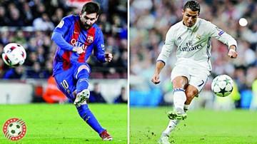 Cristiano y Messi, a brillar