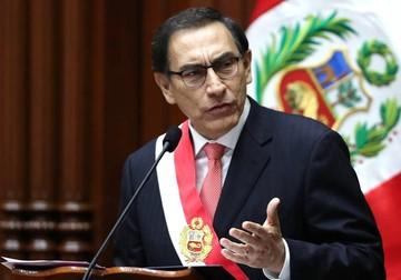 """Vizcarra: """"Llegó el momento de decir basta"""" ante la corrupción en Perú"""